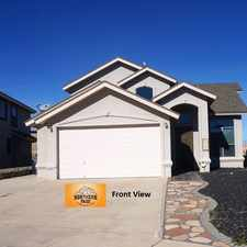 Rental info for 9953 Marine Circle in the El Paso area
