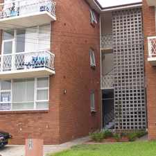 Rental info for WELL LOCATED ONE BEDROOM APARTMENT