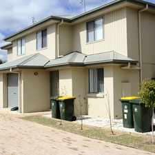 Rental info for Near new upmarket townhouse. in the Warwick area