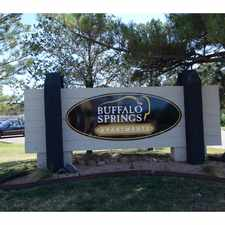 Rental info for Buffalo Springs Apartments