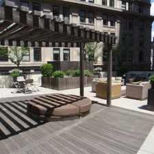 Rental info for 1 Wall Street Court #1007
