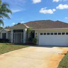 Rental info for Single Family Home Home in Vero beach for Owner Financing