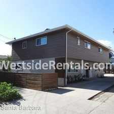 Rental info for 2 bedrooms, 1 Bath