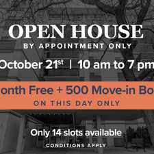 Rental info for Chaplin Crescent Apartments in the Forest Hill North area