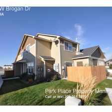 Rental info for 9121 W Brogan Dr