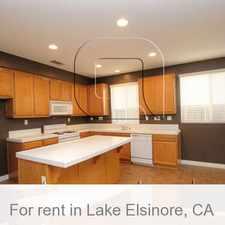 Rental info for Lake Elsinore - Beautiful Five Bedroom.