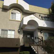 Rental info for Crenshaw Townhouse in the Los Angeles area