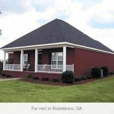 Rental info for 3 Spacious BR in Statesboro