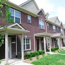 Rental info for Lakeside Boulevard Townhomes