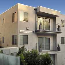 Rental info for 1418 North Poinsettia Place in the West Hollywood area