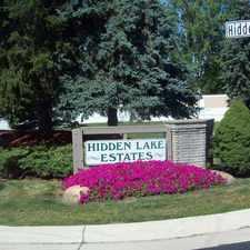 Rental info for Hidden Lake Estates
