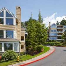 Rental info for Avalon Kirkland at Carillon Point in the Bellevue area