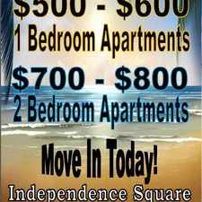 Rental info for Independence Square Apartments