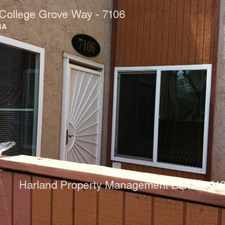 Rental info for 6333 College Grove Way in the Lemon Grove area