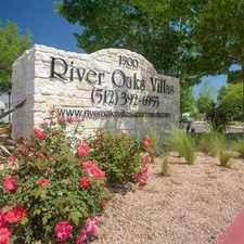 Rental info for River Oaks Villas Apartments