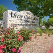Rental info for River Oaks Villas Apartments