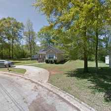 Rental info for Single Family Home Home in Sylacauga for For Sale By Owner