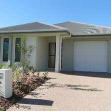 Rental info for Near New in Cosgrove Estate - ONE MONTH FREE RENT on a 12 month lease / TWO WEEKS FREE RENT on a 6 month lease in the Townsville area