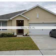 Rental info for 3 bedrooms House - NEW SINGLE FAMILY HOME AVAILABLE IMMEDIATELY. in the Spring Hill area