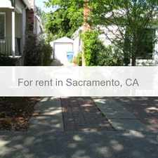 Rental info for East Sacramento Beauty Close to Trader Joes. Washer/Dryer Hookups! in the Elmhurst area