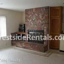 Rental info for 1 bedroom, 1 Bath
