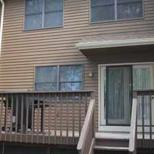 Rental info for Large Townhouse with Under Garage, 3 Bedrooms, 2. 5 baths, Fireplace