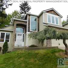 Rental info for 13635 SE Eastridge St in the Pleasant Valley area