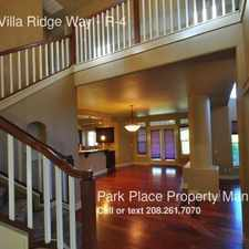 Rental info for 4888 N Villa Ridge Way