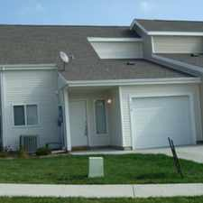 Rental info for AVAILABLE NOW - 3 Bedroom 2 Bath Townhouse For Rent In Manhattan KS on West Side