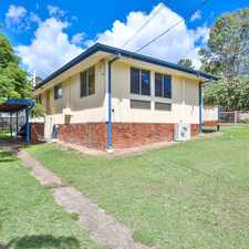 Rental info for TIDY THREE BEDROOM HOME , LARGE CORNER BLOCK, FULLY FENCED **ONE WEEKS FREE RENT TO APPROVED APPLICANT/S** in the Goodna area