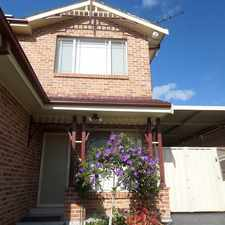 Rental info for FOUR BEDROOM TOWNHOUSE