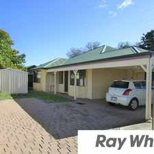 Rental info for LOOK NO FURTHER - TIDY 3X2 UNIT in the East Bunbury area