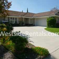 Rental info for Fabulous home with magnificent view of SF Valley! in the Porter Ranch area