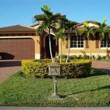 Rental info for 13181 Southwest 192nd Terrace