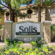 Rental info for Solis at Towne Center in the Glendale area