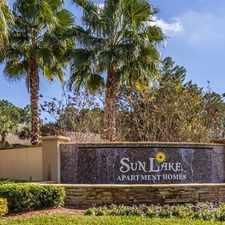 Rental info for Sun Lake