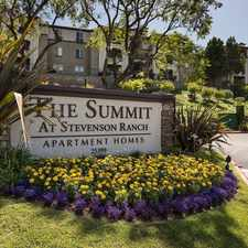 Rental info for The Summit at Stevenson Ranch
