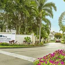 Rental info for Bell Coconut Creek in the 33073 area