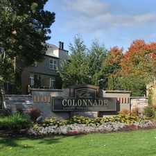 Rental info for The Colonnade in the Hillsboro area
