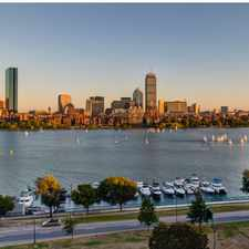 Rental info for 100 Memorial Drive in the Boston area