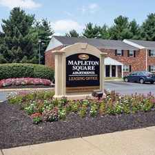 Rental info for Mapleton Square