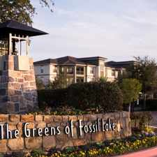 Rental info for The Greens Of Fossil Lake in the Fairway Bend area