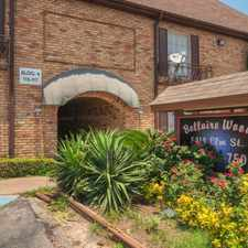 Rental info for Bellaire Wood Apartments in the Gulfton area