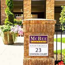 Rental info for McBee Station