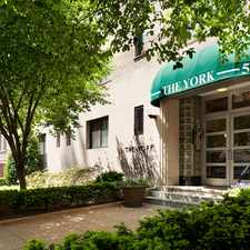 Rental info for The York in the Foggy Bottom - GWU - West End area