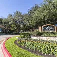 Rental info for Park at Monterey Oaks in the East Oak Hill area