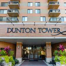 Rental info for Dunton Tower in the Arlington Heights area
