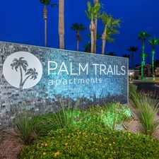 Rental info for Palm Trails Apartments