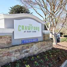 Rental info for The Crawford at East Cobb