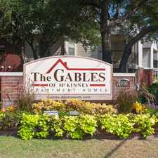Rental info for The Gables of McKinney Apartments